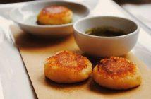 Картофельные биточки с сыром и беконом