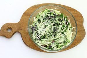 salat iz kolrabi s kolbasoj 6