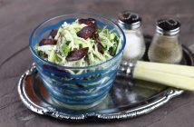Салат из кольраби с колбасой